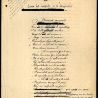 """Poema """"La  mexicana y el árabe"""" (incompleto)"""