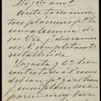 Carta del conde de Guaqui a José Zorrilla