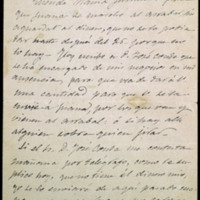 Carta de José Zorrilla a doña  Juliana