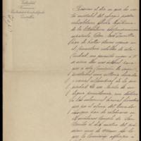 Carta de Mariano González Lorenzo al presidente de la Sociedad Constructora del Teatro Calderón [Juan Herrero Olea]