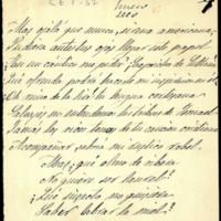 """Versos pertenecientes a la composición """"A la poetisa cristiana, el poeta árabe. Cantilena morisca"""", dedicada a Gertrudis de Avellaneda"""