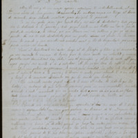 Carta de José Martí y Folguera a José Zorrilla
