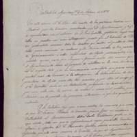 Certificación del acta de la sesión de 4 de febrero de 1893