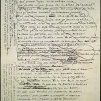 """Borrador del poema """"1892-1893"""""""