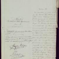 Comunicación de Manuel Mata y Maneja, en nombre de Juana Pacheco, al alcalde de Valladolid José de Hornedo Huidobro