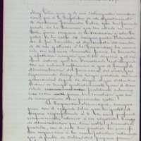 Minuta de carta de Pedro Vaquero Concellón, alcalde de Valladolid, a Juan Barat