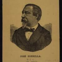 Retrato de José Zorrilla