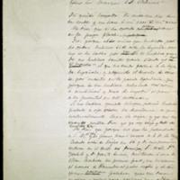 Carta de José Zorrilla al Marqués de Valmar