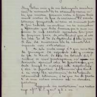 Minuta de carta del alcalde José de Hornedo Huidobro a Emilio Castelar