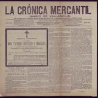 La crónica mercantil. Diario de Valladolid