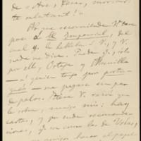 Carta de Gonzalo Brañas Sánchez-Boado  a José Zorrilla