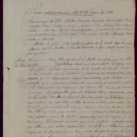 Copia del acta de la sesión extraordinaria de 25 de enero de 1893