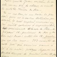 Carta de José Zorrilla a Juan  Ruiz Pino, remitiéndole otra de Gaspar Núñez de Arce