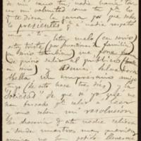 Carta de Antonio Fernández Grilo a José Zorrilla