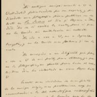 Carta de Ángel Fernández de los Ríos a José Zorrilla