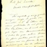 Carta anónima a José Zorrilla
