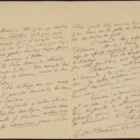 Carta de Antonio Vico y Pintos a José Zorrilla