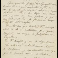 Carta de José Velarde a José Zorrilla