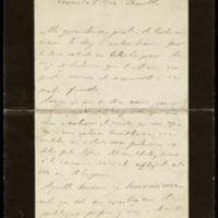 Carta de Leopoldo Alas a José Zorrilla