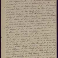 Minuta de carta de Pedro Vaquero Concellón, alcalde de Valladolid, a los profesores de instrucción primaria de Valladolid