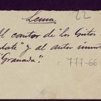 22º Premio de los Juegos Florales y certamen científico y literario de 1906, otorgado a Marciano Zurita