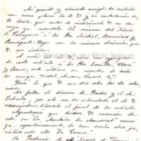 Carta de Pedro Antonio Torres i Jordi a Víctor Balaguer