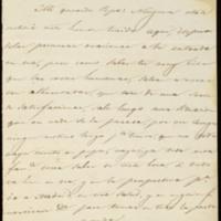 Carta de Julián García a José Zorrilla