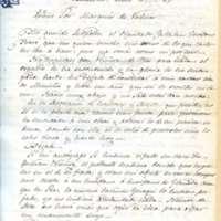 Carta de José Zorrilla a Leopoldo Augusto de Cueto