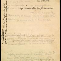Apuntes de versos de José Zorrilla