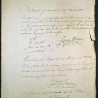 Certificación del acuerdo del ayuntamiento de Valladolid para adquisición de la casa de Zorrilla