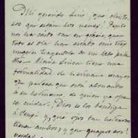 Carta de José Zorrilla a Luis Antonio Conde Rodríguez-Tamargo