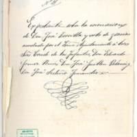 Expediente sobre la organización de las fiestas del Corpus Christi y la coronación del poeta José Zorrilla en la ciudad de Granada