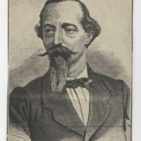 Zorrilla en 1866, por Ortego