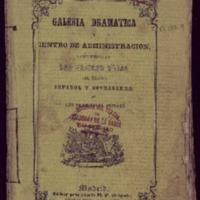 """""""El zapatero y el rey"""". Drama en cuatro actos, por José Zorrilla"""