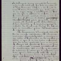 Borrador de carta [de Mariano González Lorenzo] a Marcelo de Azcárraga, ministro de Guerra