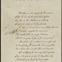 Poema de León Carnicer dedicado a José Zorrilla