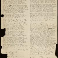 """Poemas """"El destino es invariable"""", dedicado al Sr. Doctor D. Francisco Esteban de Ingunza y """"Serenata Morisca"""", dedicado a S.M.I Eugenia, emperatriz de los franceses"""