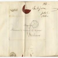 Carta del Embajador de España en París al Cónsul de Burdeos sobre José Zorrilla Caballero