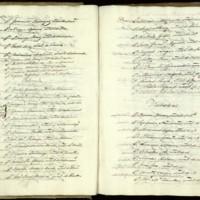 Listado de los alumnos que pasaron el curso de Segundo de Leyes de la Universidad de Valladolid de 1834-1835, donde figura José Zorrilla Moral, natural de Valladolid