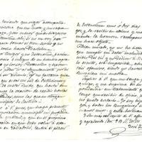 """Donación al Ayuntamiento de Burgos del primer ejemplar encuadernado del poema """"La leyenda del Cid"""" y entrega de medalla conmemorativa a Zorrilla"""