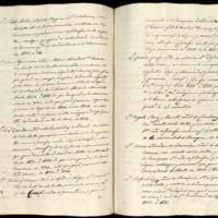 Incorporación de curso de José Zorrilla Moral, natural de Valladolid, en Segundo de Leyes de la Universidad de Valladolid, proveniente de la Universidad de Toledo, en el curso 1834-1835