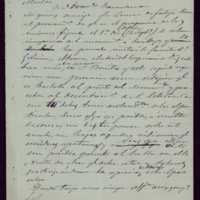 Borrador de carta del alcalde de Valladolid [Mariano González Lorenzo] a Francisco Zarandona