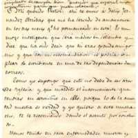Carta de José Zorrilla a Víctor Balaguer