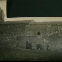 Exterior de la ermita de Santa María de Muñó, situada en el término de Villavieja de Muñó (Burgos)