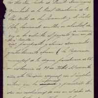 Borrador de carta del presidente de la comisión del monumento a Zorrilla al alcalde de Valladolid [Moisés Carballo]