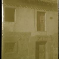 Exterior de la casa de los Zorrilla en Lerma (Burgos)