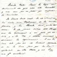 Carta de Paco a Víctor Balaguer