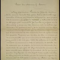 Carta de Gaspar Núñez de Arce, Leopoldo Cano y Emilio Ferrari dirigida a Mariano González Lorenzo, presidente de la comisión para el traslado de los restos de Zorrilla a Valladolid