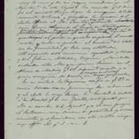 Borrador de carta del alcalde [ Mariano González Lorenzo] a Segismundo Moret y Prendergast, presidente del Ateneo de Madrid