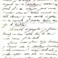 Carta de Jerónimo Borao y Clemente a Víctor Balaguer